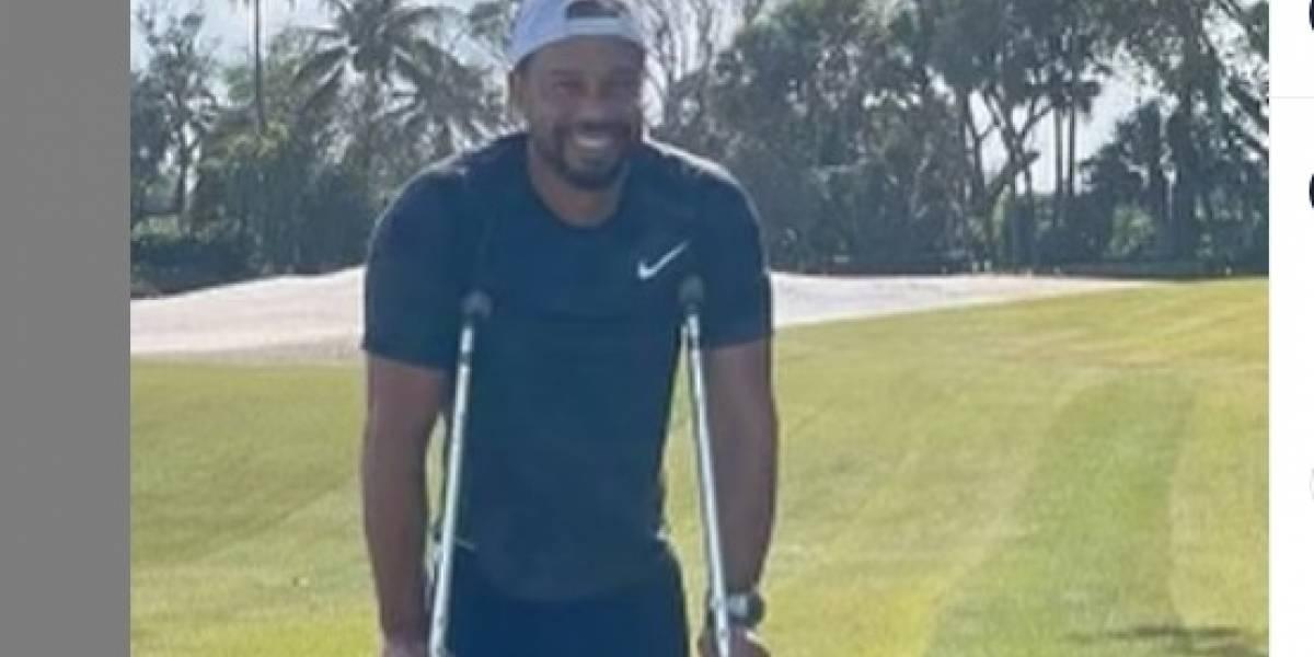 ¡Un campeón de la vida! Tiger Woods vuelve a caminar tras el accidente