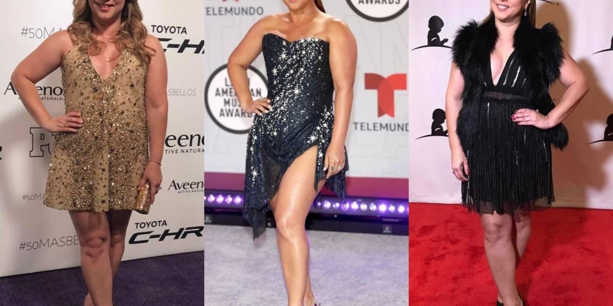 Los mejores looks que Adamari López ha lucido en alfombras rojas