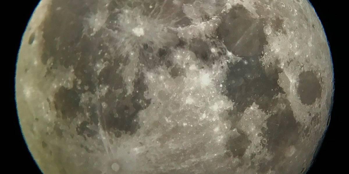 Mañana se verá la súper luna
