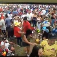 Aglomeración en Día Nacional de la Zalsa en Florida