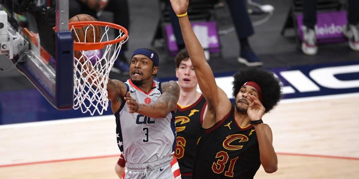 Wizards derrotan a Cavaliers e hilvanan ocho victorias