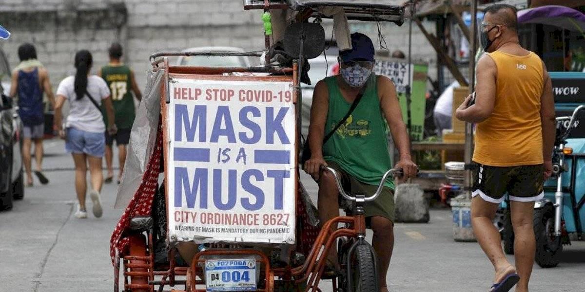 Filipinas supera el millón de casos de COVID-19