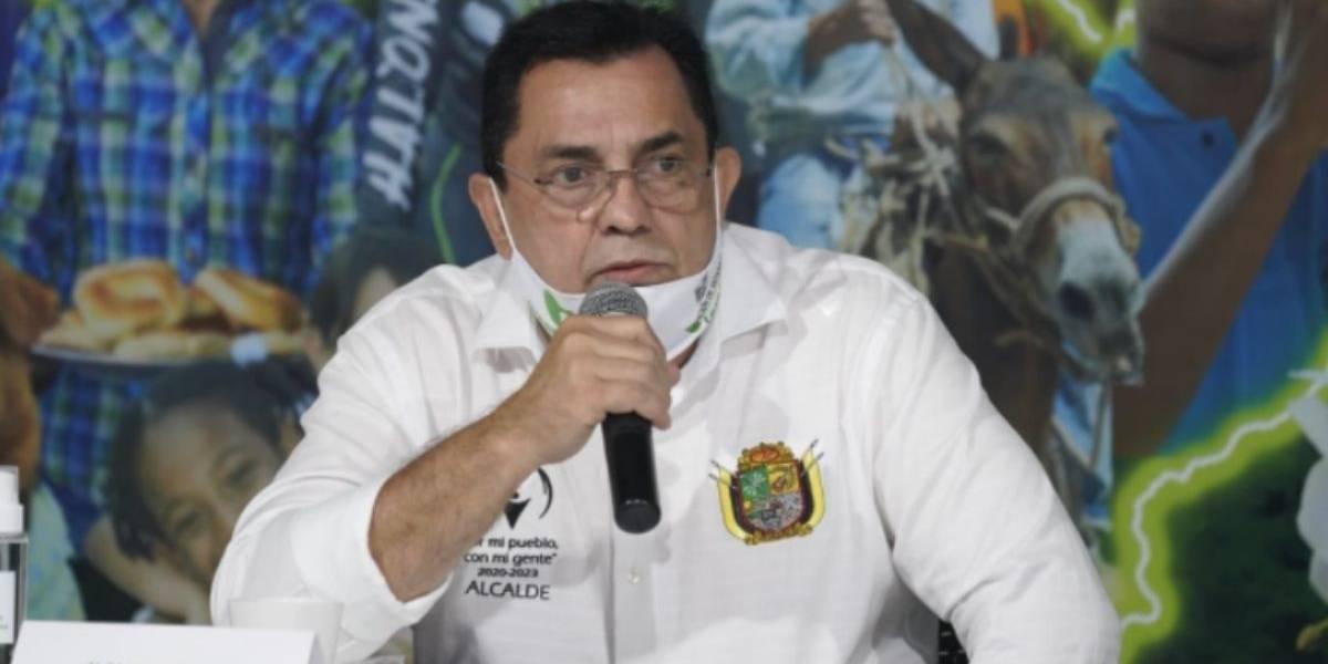 Fallece alcalde colombiano por COVID-19