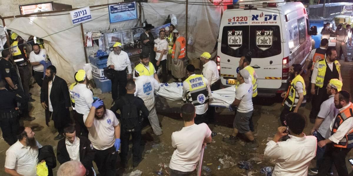 Al menos 40 muertos tras estampida en Israel