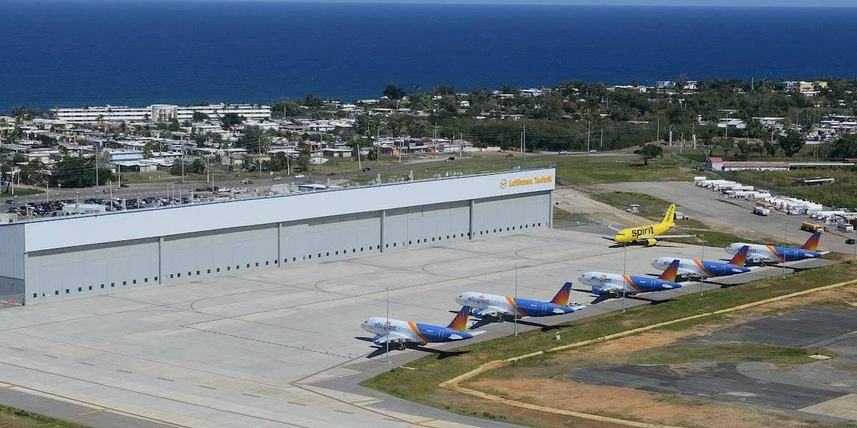 Gobierno otorga incentivos a Lufthansa Technik para que mantenga operación en Aguadilla