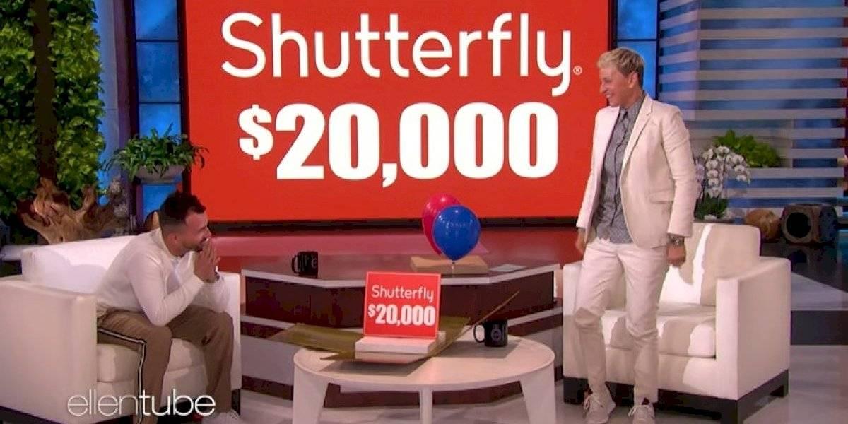 Ellen DeGeneres dona $20 mil más a maestro boricua durante su visita al programa