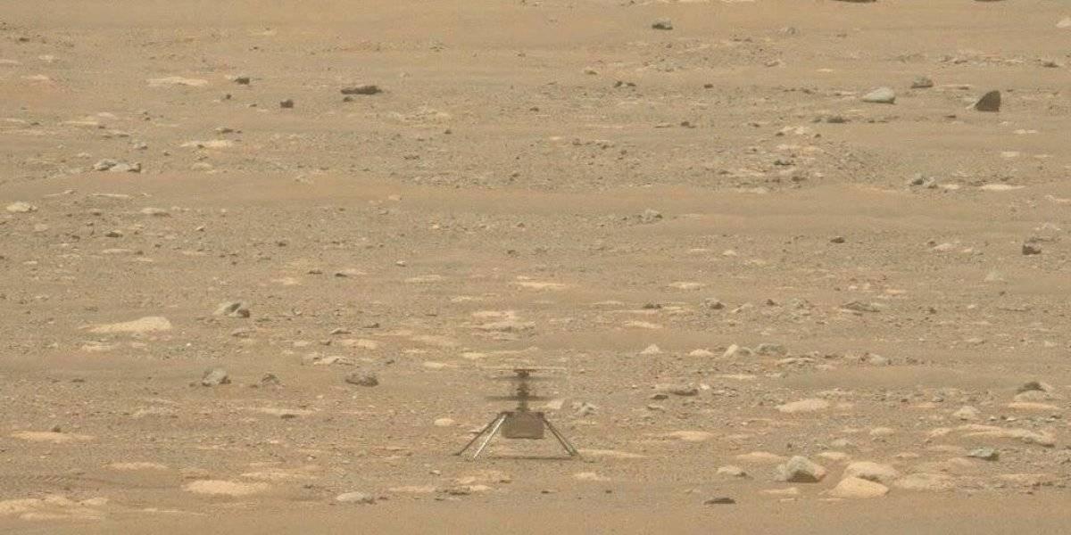 Dron en Marte recibe mes adicional de vuelos de prueba