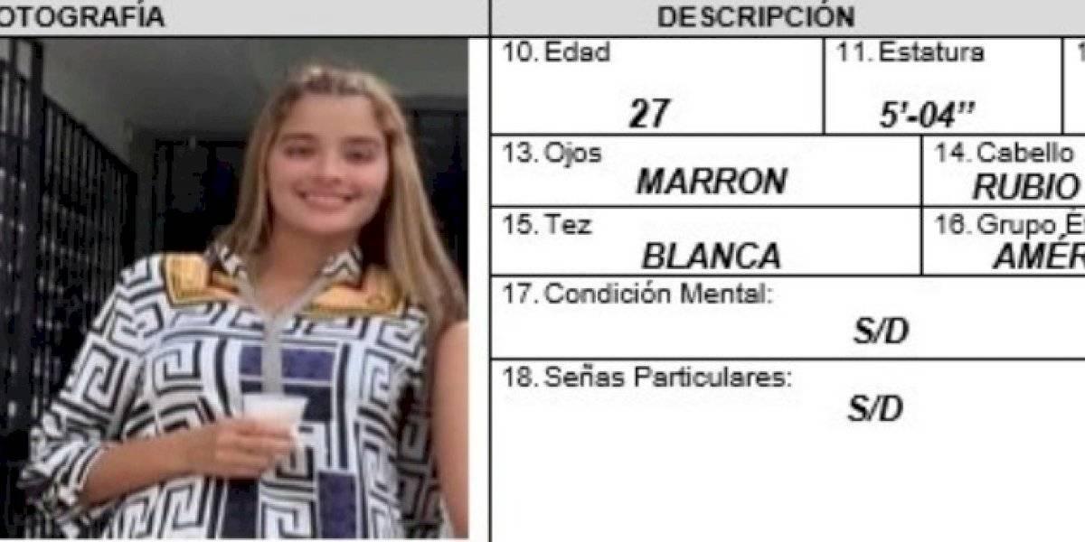 Activan Alerta Rosa por desaparición de una mujer de 27 años en San Juan