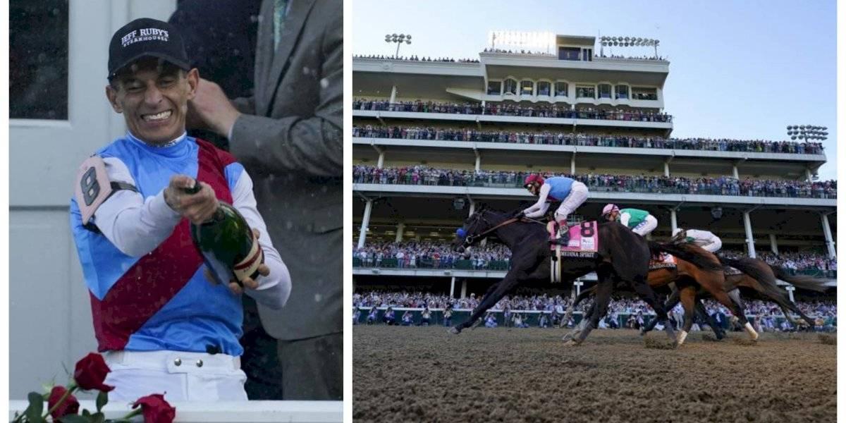 Jinete boricua John Velázquez ganó otro Kentucky Derby (video)