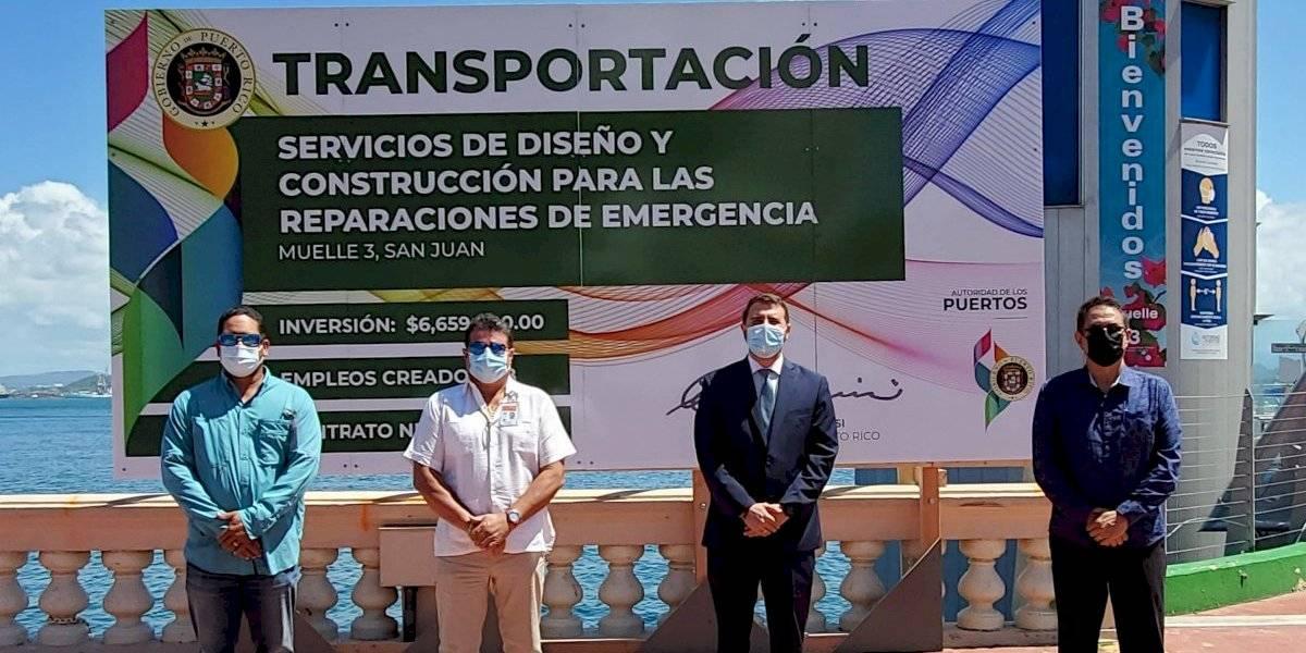 Puertos inicia proyecto para reconstruir muelle 3 en San Juan