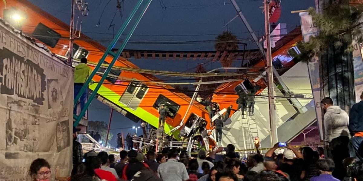 Estos son los accidentes más graves que ha sufrido el Metro de la CDMX