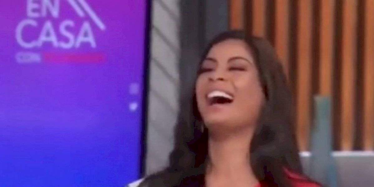 Miss Aruba arranca risas con esta respuesta en un programa de Telemundo