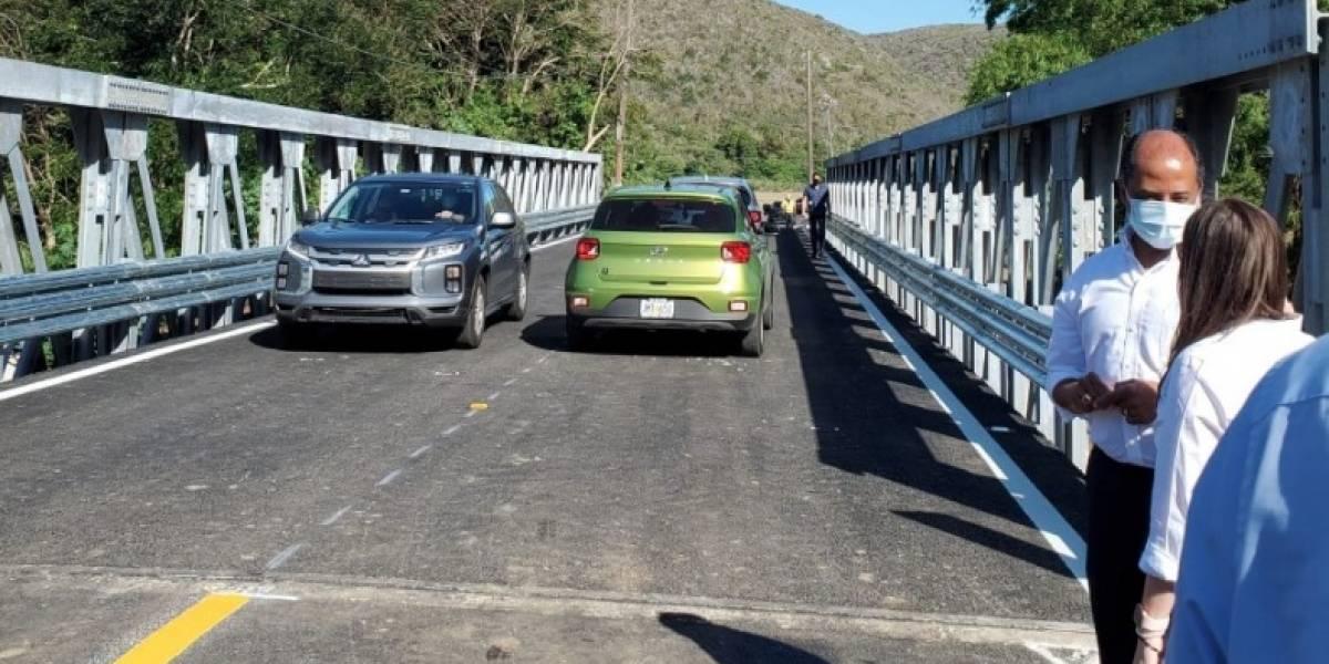 Anuncian apertura de puente en la PR-335 de Yauco