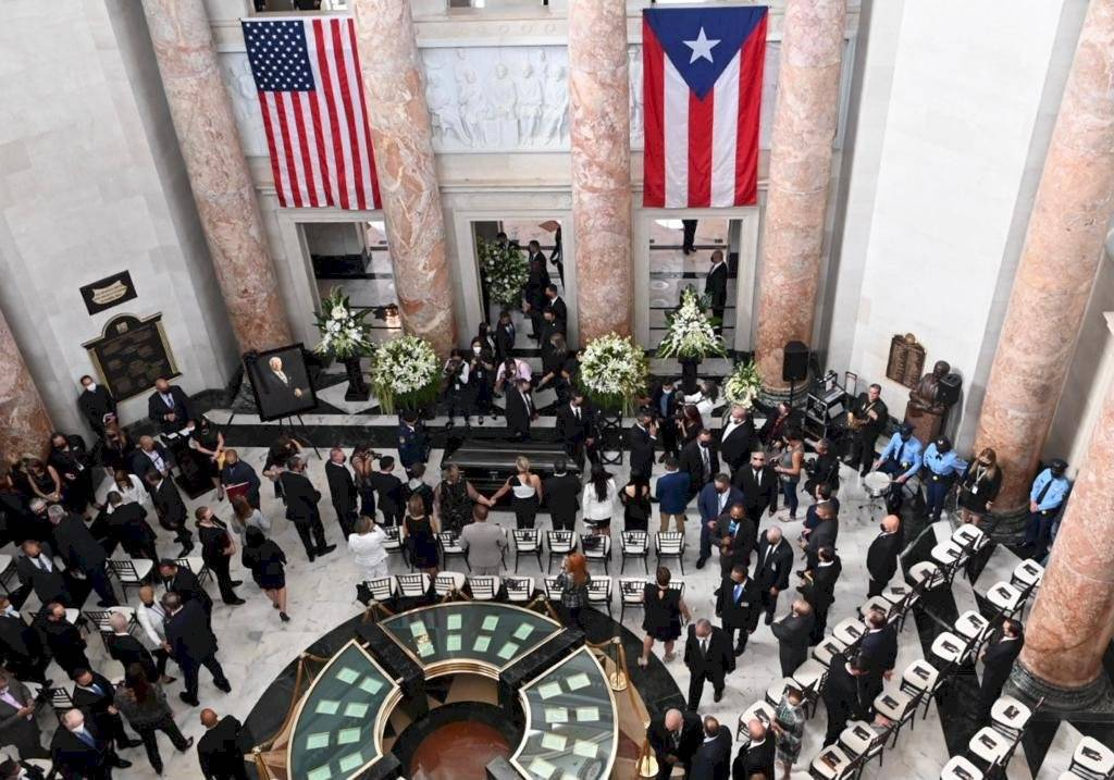 Funeral Carlos Romero Barceló