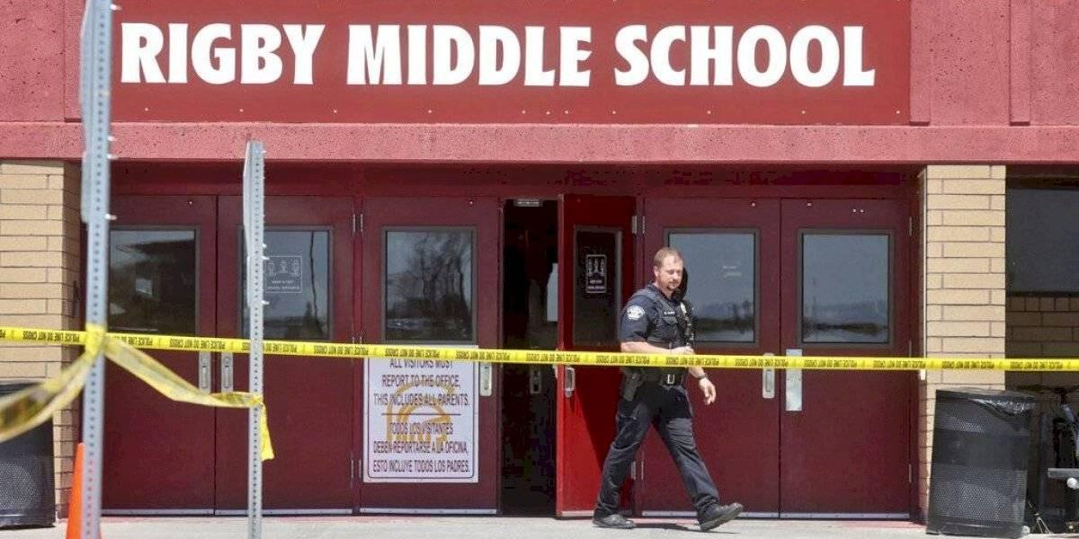 Alumna de sexto grado lleva pistola a su escuela en Idaho y balea dos estudiantes y conserje