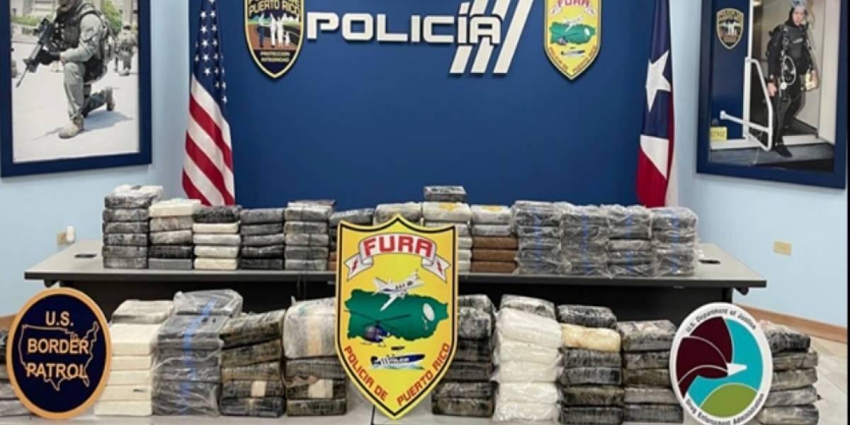 Ocupan 186 bloques llenos de cocaína en Cabo Rojo