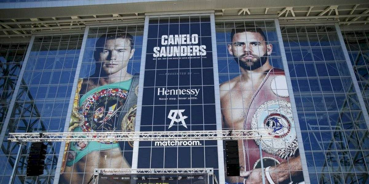 """Canelo"" Álvarez regresa a Texas para combate de unificación de títulos frente a Saunders"