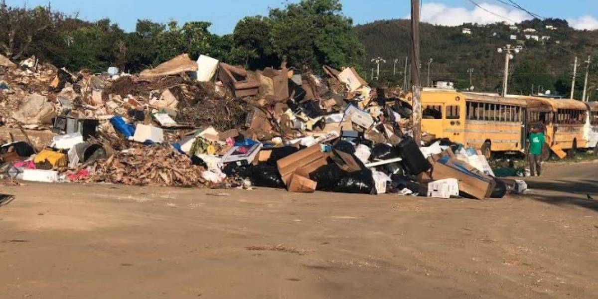 Ceiba cierra deposito de basura