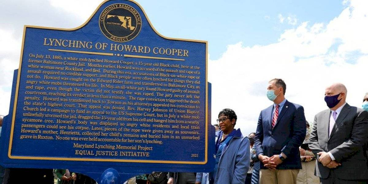 Maryland indulta a 34 víctimas de linchamientos raciales