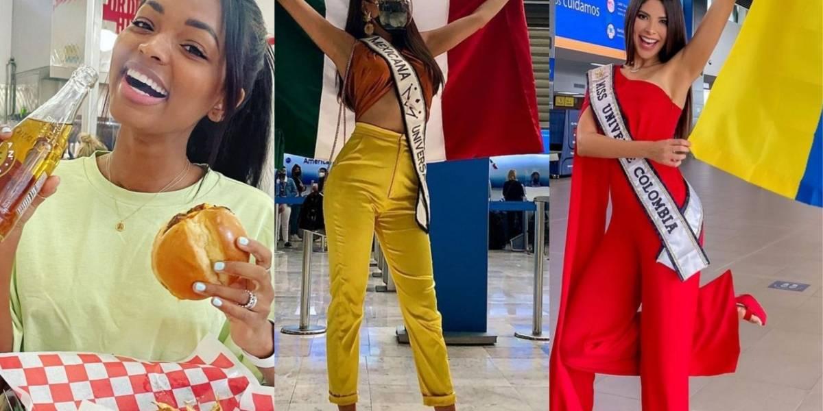 """""""Miss Universo"""": Así se preparan las participantes a días de la coronación"""