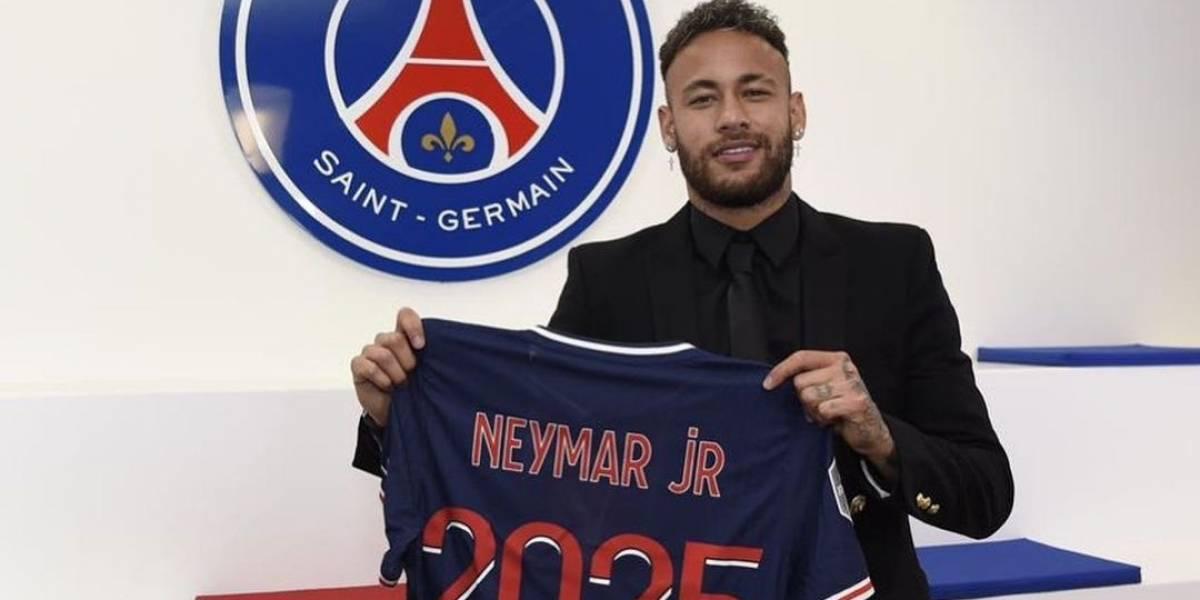 OFICIAL: Neymar extiende su relación con el PSG hasta 2025