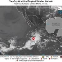 Se forma la tormenta tropical Andrés al suroeste de México