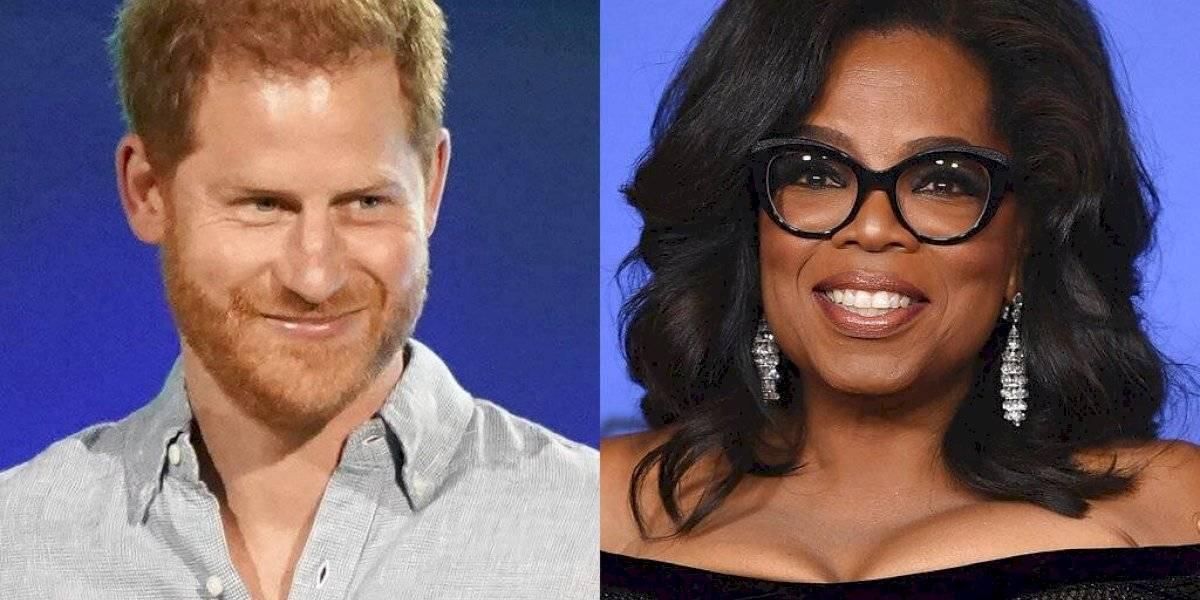 Oprah y Harry crean serie de salud mental para Apple TV+