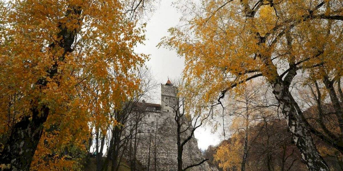 Transforman el Castillo de Drácula en un centro de vacunación