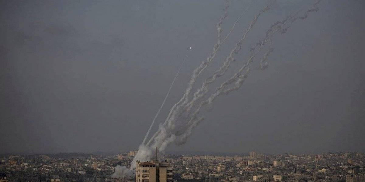 Se escuchan explosiones en Jerusalén luego que grupo Hamas lanzara cohetes