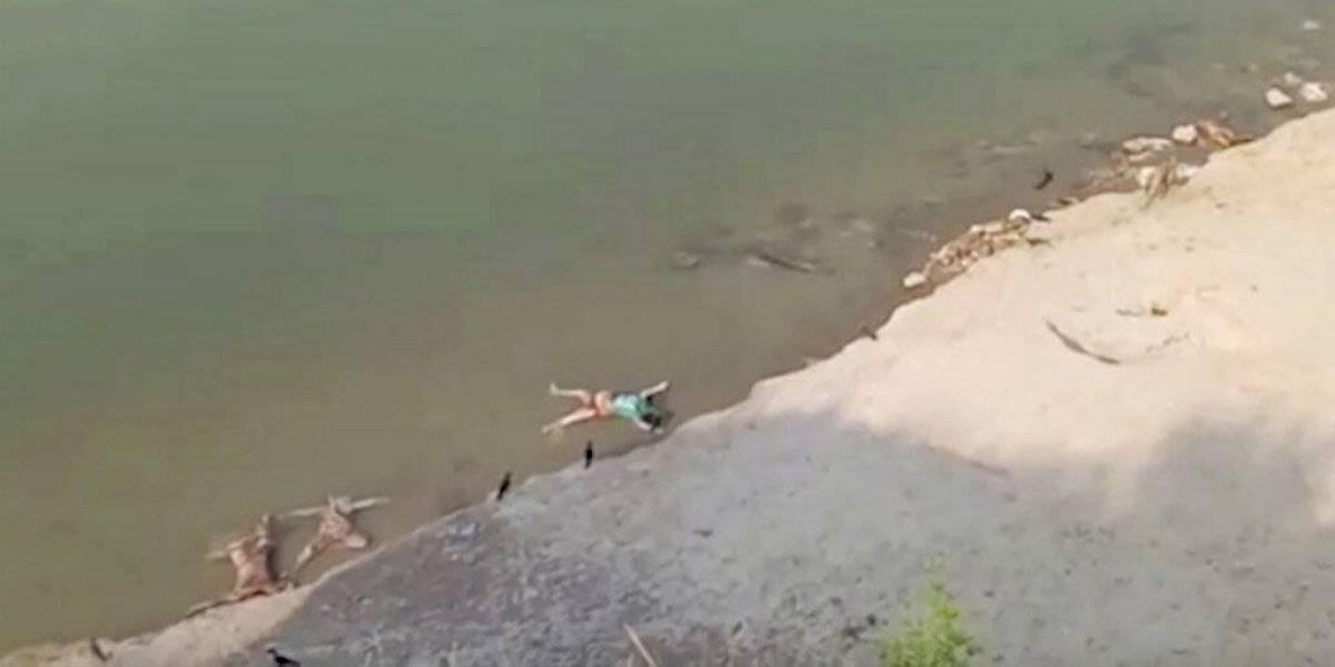 Indignación en la India tras hallazgo de decenas de cadáveres en un río