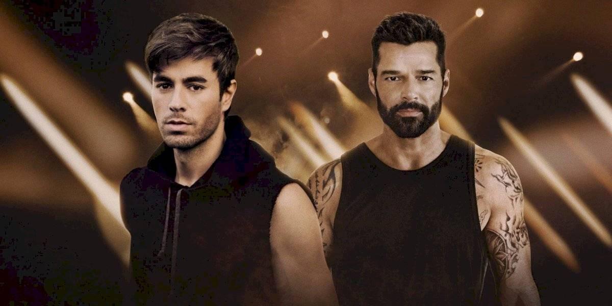 Ricky Martin y Enrique Iglesias tendrán su primera gira juntos este año