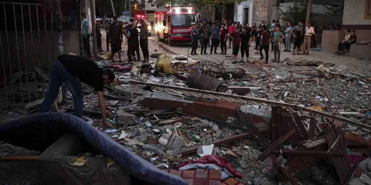 Se intensifica intercambio de ataques entre Israel y Hamas