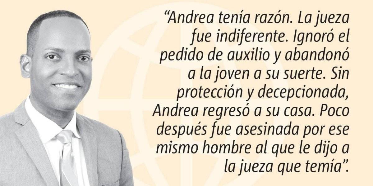 Opinión de Julio Rivera Saniel: Andrea tenía razón