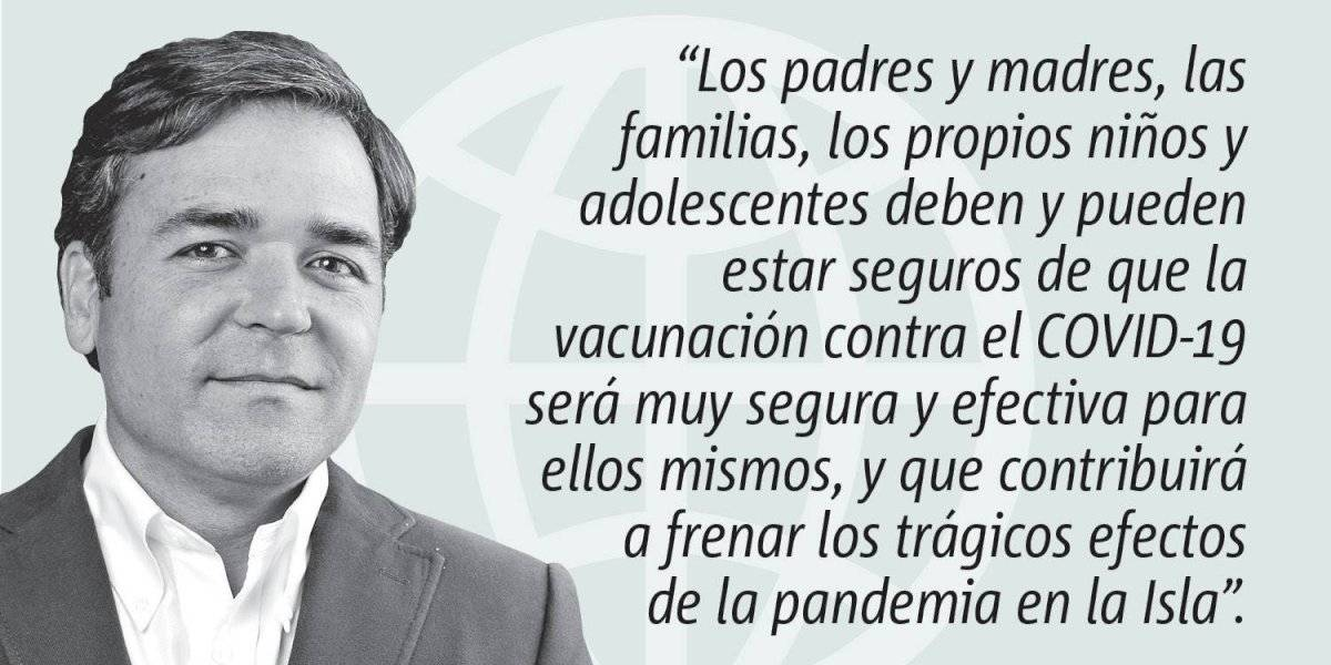 Opinión de Alejandro Figueroa: Sin vacunar a los niños no terminará la pandemia