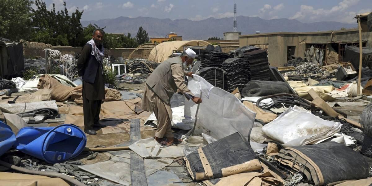 Estados Unidos deja toneladas de chatarra en su retirada de Afganistán