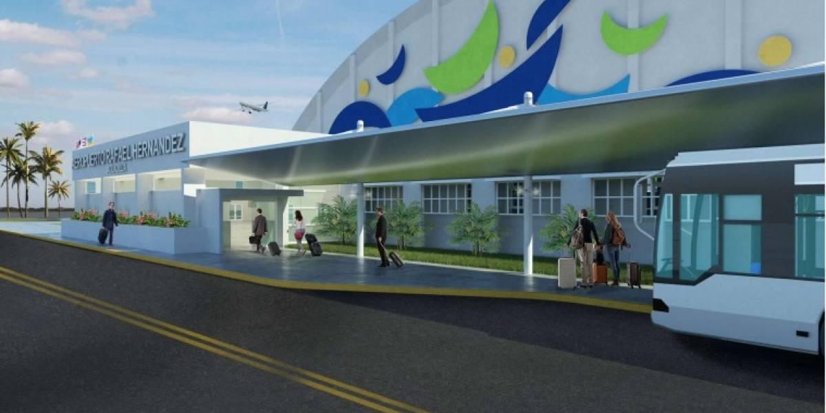 Puertos presenta planes de remodelación del aeropuerto de Aguadilla