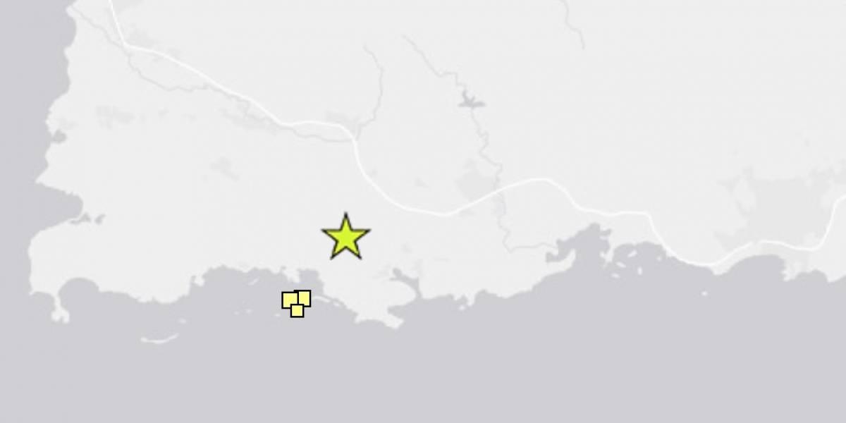 Reportan temblor de magnitud 3.64 en Cabo Rojo