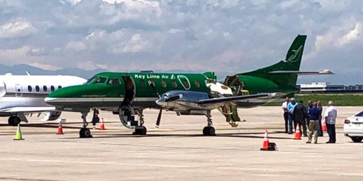 Ilesos los ocupantes de dos avionetas que chocaron en el aire en Colorado