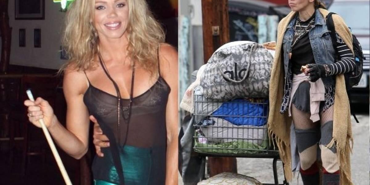 Loni Willison, la modelo de Hollywood que terminó viviendo en la calle por las drogas