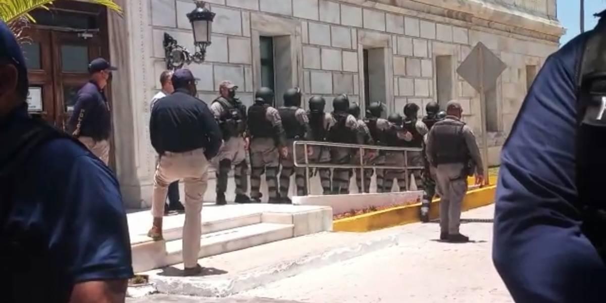 """Secretario de Seguridad Pública y Comisionado de Policía rechazan expresiones de """"Tatito"""""""