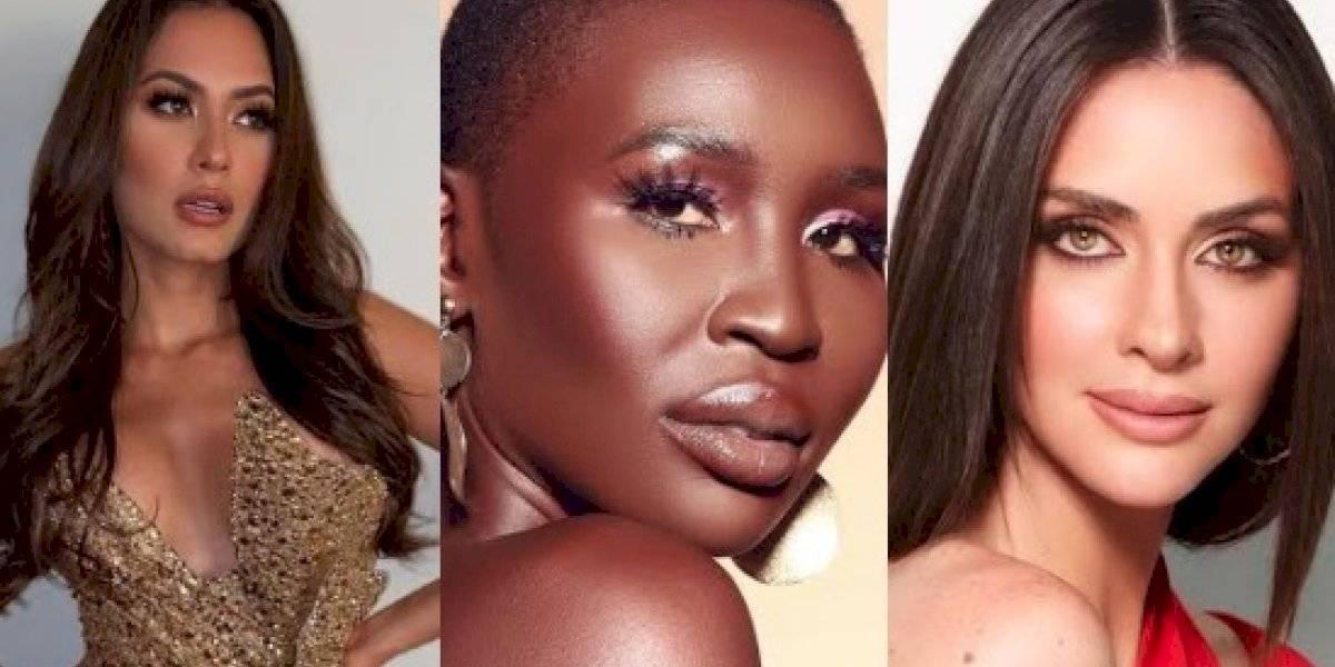 Cinco fuertes candidatas a la corona de Miss Universo