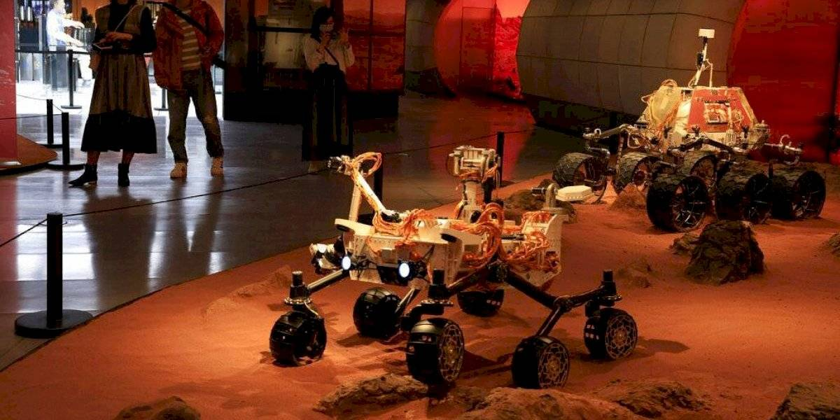 China logra posar sonda espacial en Marte por primera vez
