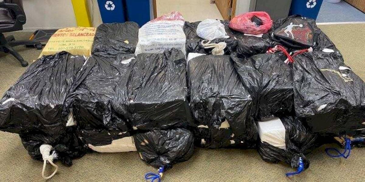 Federales interceptan yola con $21.7 millones en cocaína en costas de Puerto Rico