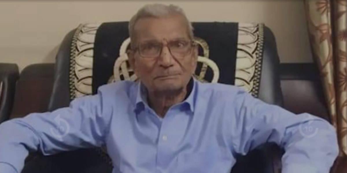Hombre de 85 años con COVID en India cedió su cama de hospital a otro más joven, falleció poco después