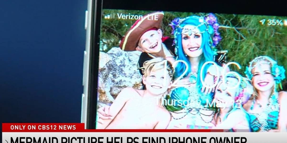 Bailarina de Las Vegas recupera su teléfono tras estar 77 días hundido en el mar
