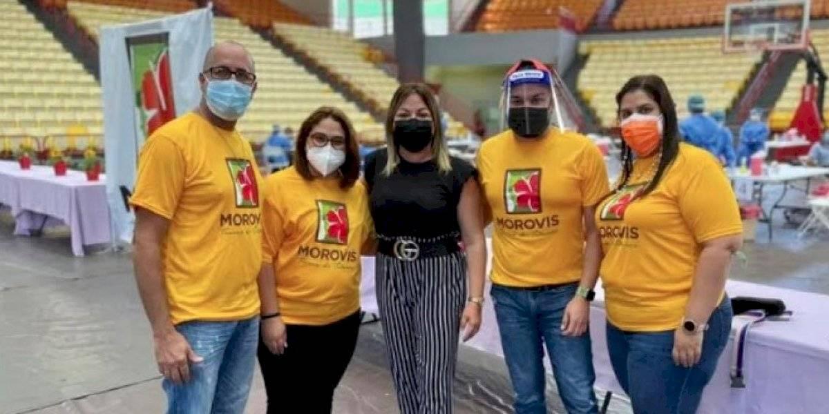 Morovis vacuna 560 personas contra el COVID-19 en un día