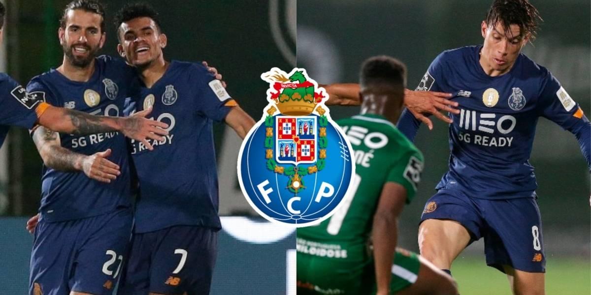 Video: Gol y asistencia de Luis Díaz en Rio Ave VS Porto por Fecha ...