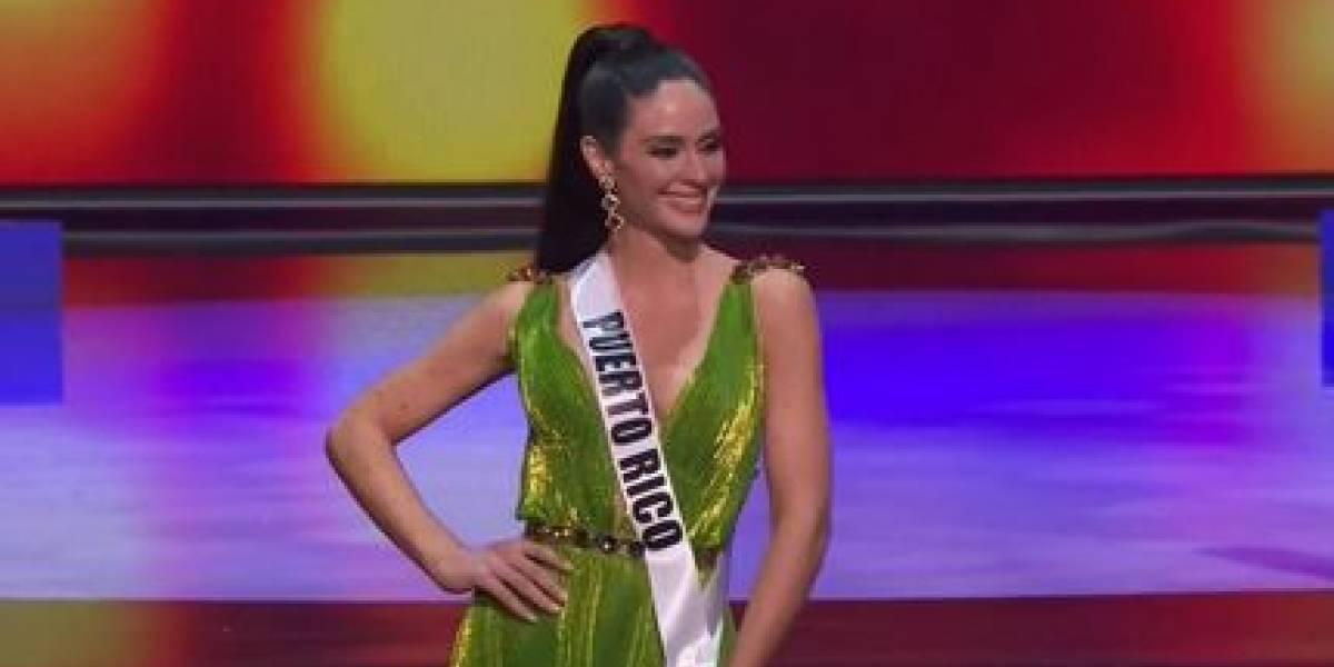 Estefanía Soto clasifica en el Top 21 de Miss Universo 2020