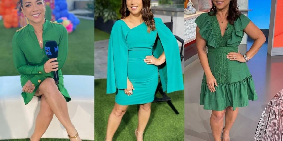 Adamari López nos demuestra con estos looks que el verde es su color