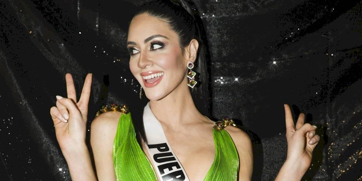 Fotos: Así se disfruta Estefanía Soto el backstage de Miss Universe